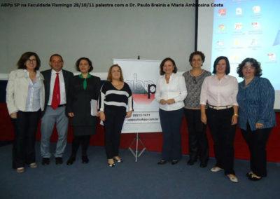 Palestra com o Dr. Paulo Breinis e Maria Ambrosina Costa