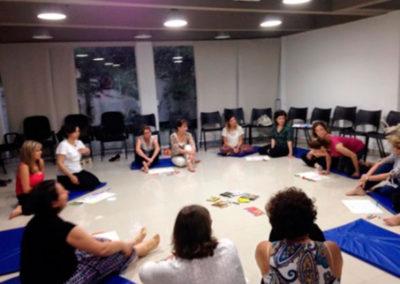 Comemoração do dia do Psicopedagogo - Vivência Rio Aberto