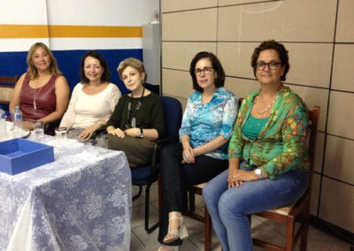 Faculdade Paschoal Dantas - Palestra com Sandra Lia N. Santilli - Comemoração do Dia do Psicopedagogo