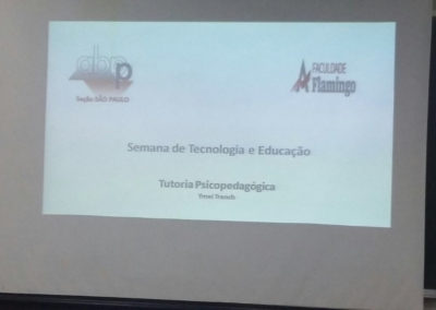 Faculdade Flamingo - Tutoria Psicopedagógica - Ymei Trench